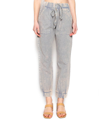 CITY TOURS ACID WASH JOGGERS