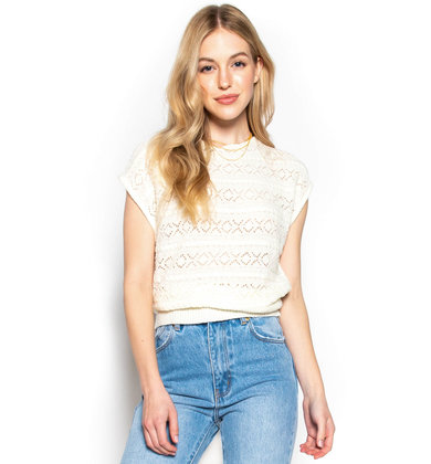 ROAD TO NOWHERE KNIT TOP