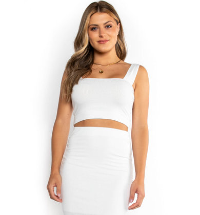 LASTING IMPRESSION CROP TOP