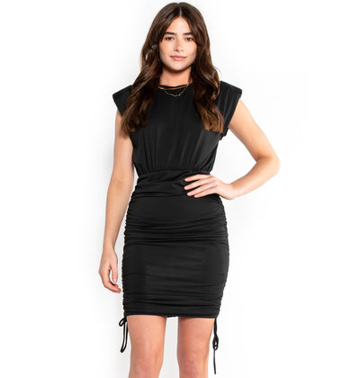 FORGET THE RULES BLACK DRESS