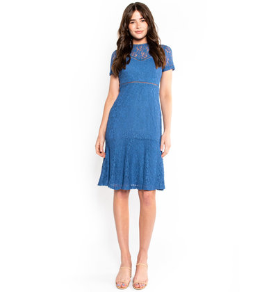 ENGAGING ENCOUNTER LACE DRESS