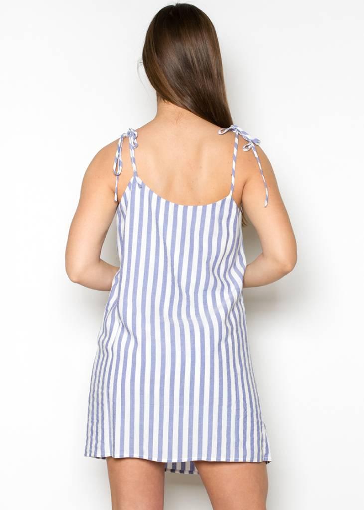 WENDY STRIPED SUN DRESS