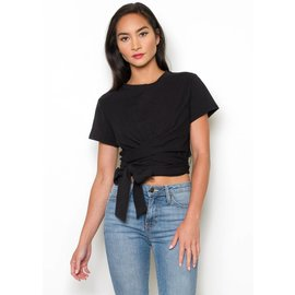 GIA TIE FRONT T-SHIRT