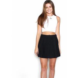BLAIR PINSTRIPE MINI SKIRT