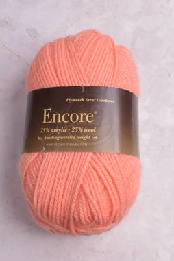 Image of Plymouth Encore Worsted 472 Cantaloupe