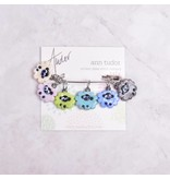 Image of Ann Tudor Stitch Markers, Sheep Flock Pastels, Small