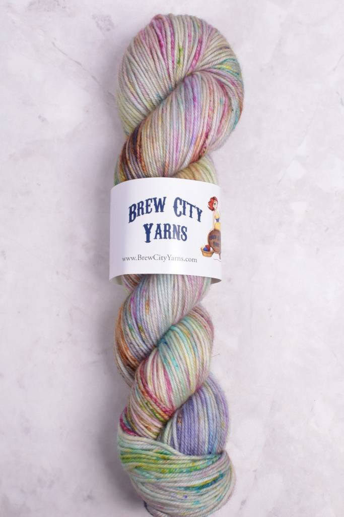 Image of Brew City Yarns Impish DK Can't Stop the Signal