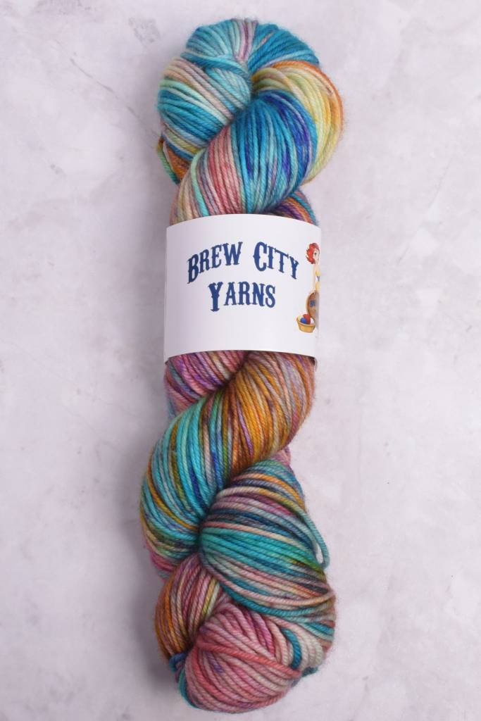 Image of Brew City Yarns Impish DK Cathedral Glass