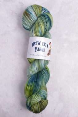 Image of Brew City Yarns Impish DK Moss You Go?