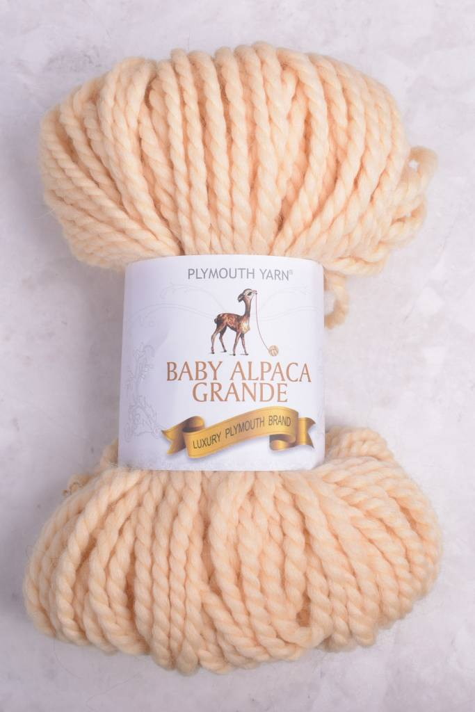 Image of Plymouth Baby Alpaca Grande 2330 Butter (Discontinued)