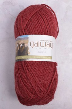 Image of Plymouth Galway Worsted 182 Crimson Tide (Discontinued)