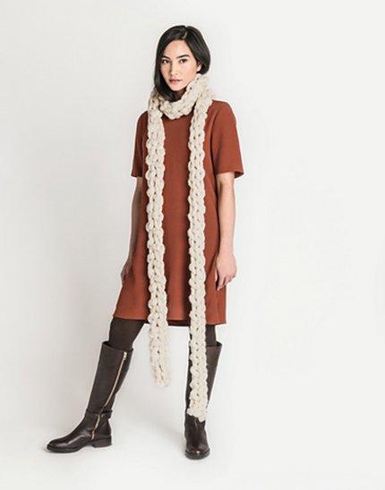 Wool & Co. Feature Pattern of the Week - Olso Jumbo Boa