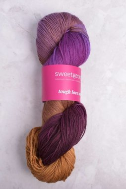 Image of Sweet Georgia Tough Love Sock Yarn Invisible Fate