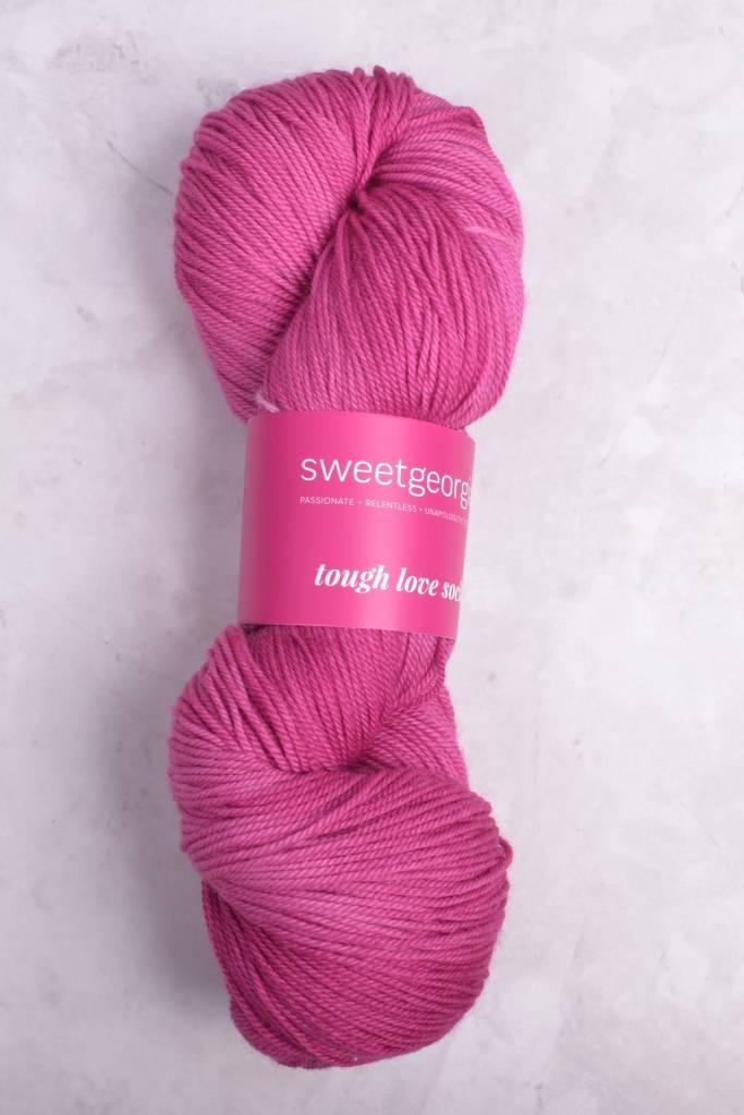 Image of Sweet Georgia Tough Love Sock Yarn Lip Gloss
