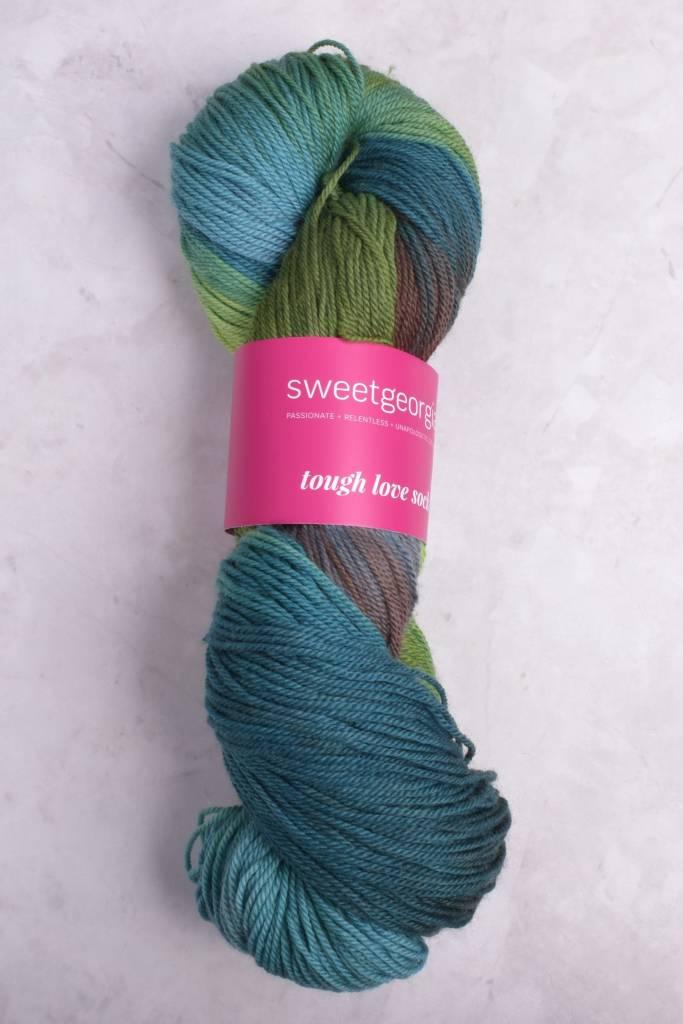Image of Sweet Georgia Tough Love Sock Yarn Pacific Spirit