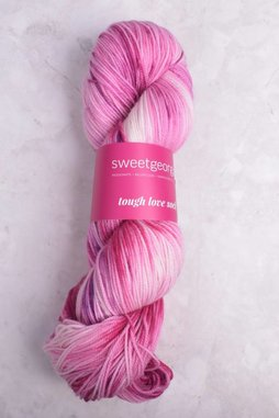 Image of Sweet Georgia Tough Love Sock Yarn Raspberry Swirl