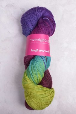 Image of Sweet Georgia Tough Love Sock Yarn Songbird