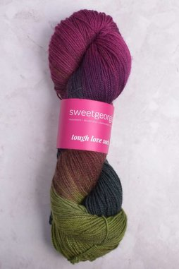 Image of Sweet Georgia Tough Love Sock Yarn Tea Party