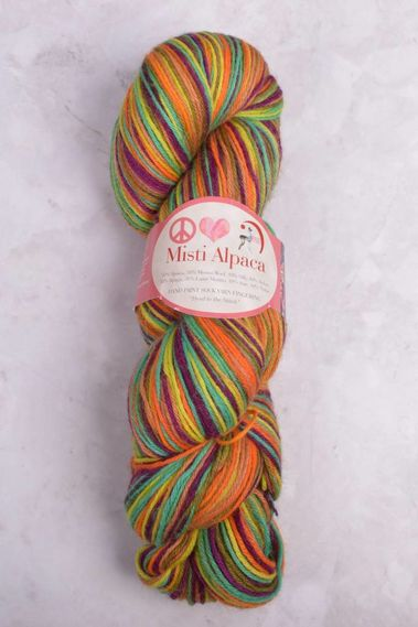 Image of Misti Alpaca Hand Paint Sock Yarn Fingering