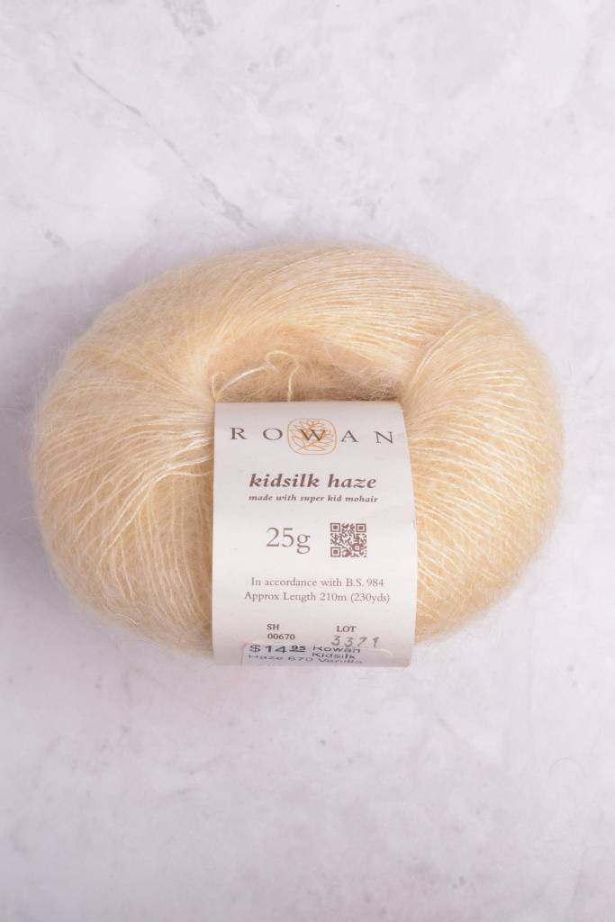 Image of Rowan Kidsilk Haze 670 Vanilla