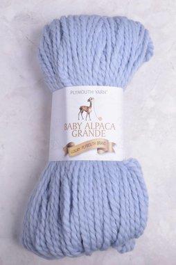Image of Plymouth Baby Alpaca Grande 504 Blue Peony
