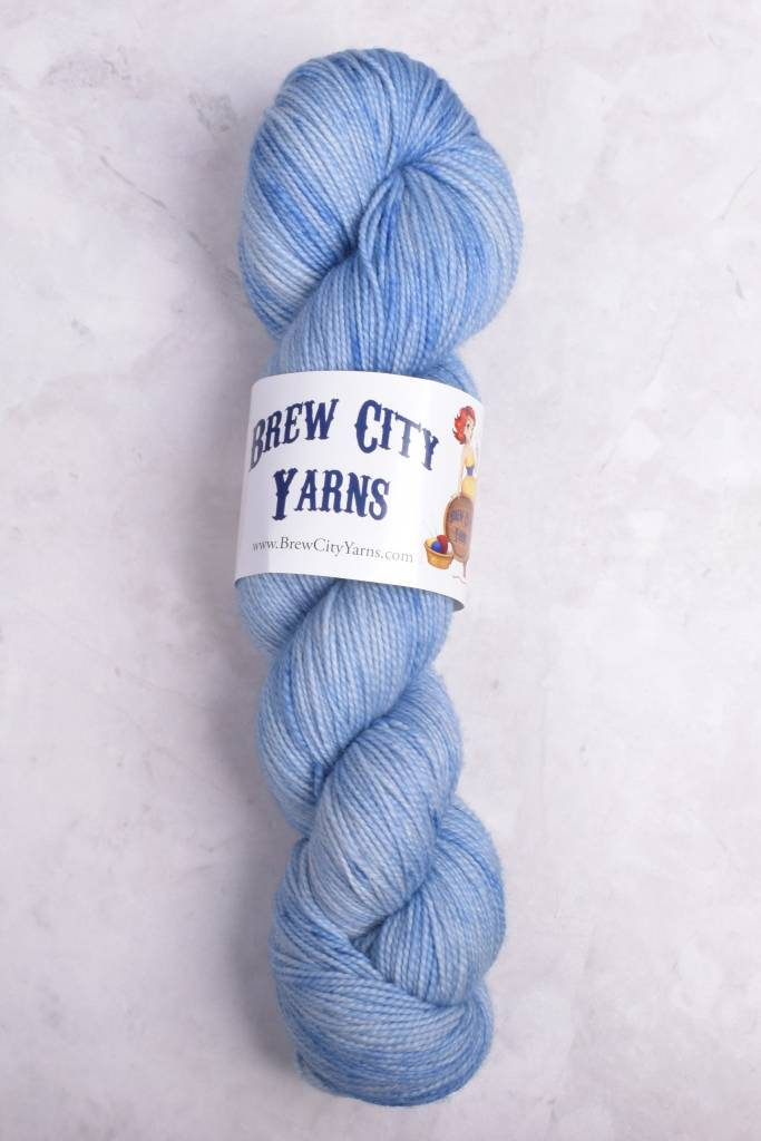 Image of Brew City Yarns Premium Draft Sock Blue Jean Baby