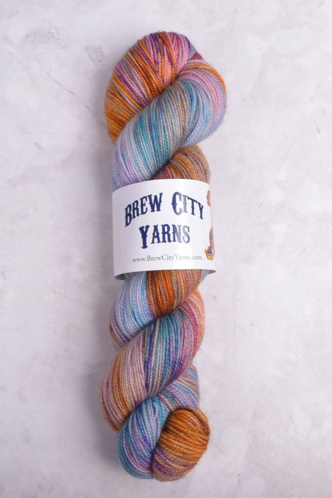 Image of Brew City Yarns Premium Draft Sock Cathedral Glass