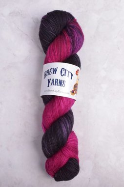 Image of Brew City Yarns Premium Draft Sock Lady Skellington