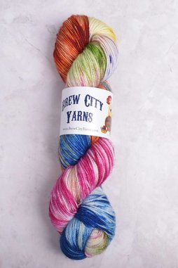 Image of Brew City Yarns Premium Draft Sock Oh the Places