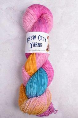 Image of Brew City Yarns Premium Draft Sock Princess Bubblegum
