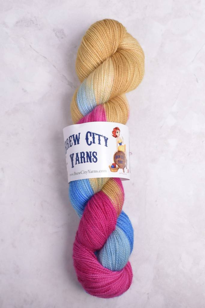 Image of Brew City Yarns Premium Draft Sock Scrabble for Your Life