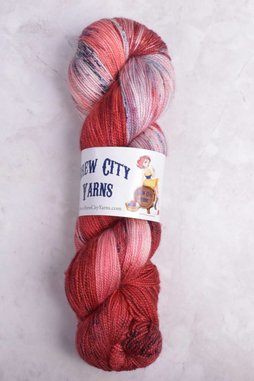 Image of Brew City Yarns XL Champagne Fingering Nolite Te Bastardes Carborundorum