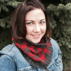 Lumberjill Cowl: Introduction to Color Work; Thursday, February 14, 28, 12:00-2:00PM