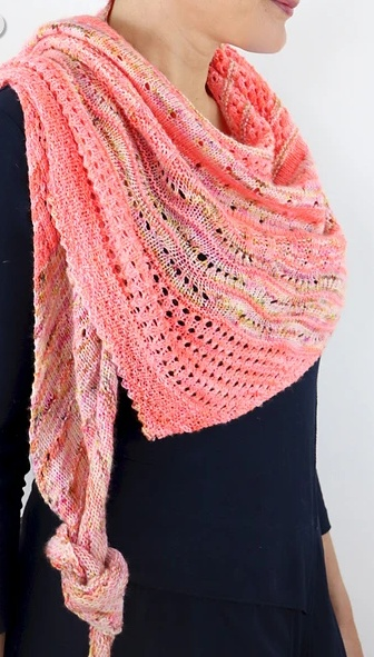 Image of Local Yarn Shawl, Thursday, March 7 (Pre-Class), 21, April 4, 18; 6:00-8:00PM