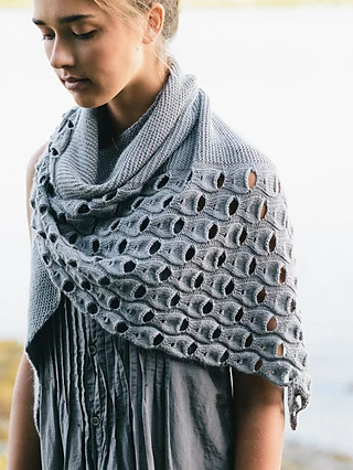 Image of Open Waters Shawl