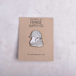 Image of Fringe Supply Sheep Enamel Pin
