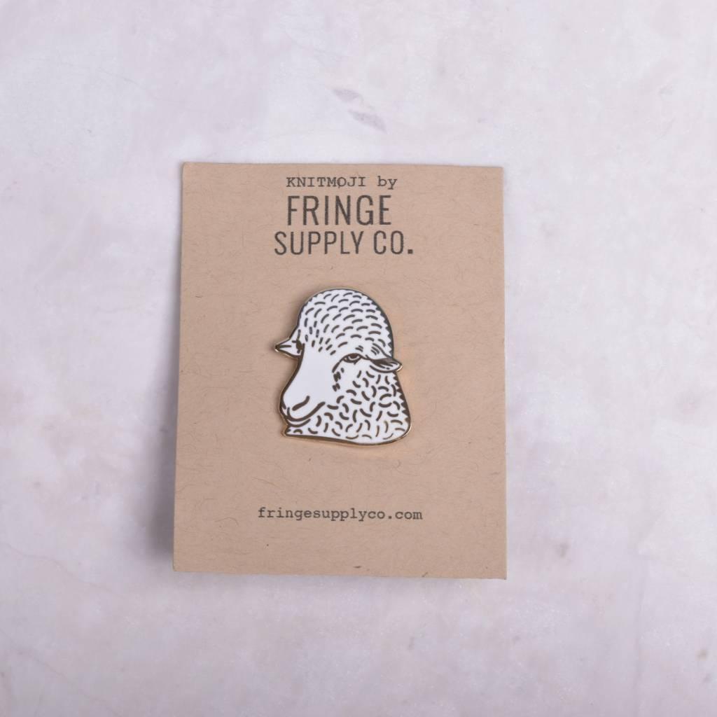 Fringe Supply Sheep Enamel Pin
