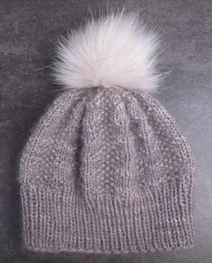 Feature Pattern of the Week - Winter Luxe Hat