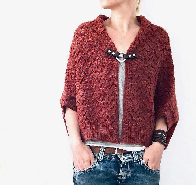Image of Santa Fe Cardigan, Tuesday, March 5, 19, April 9; 1:00-3:00PM