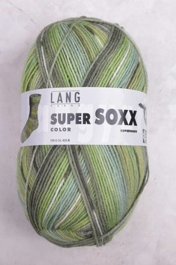 Image of Lang Super Soxx Color 201 Green Canopy