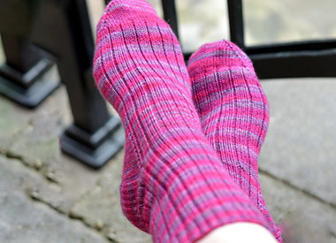 A Nice Ribbed Sock