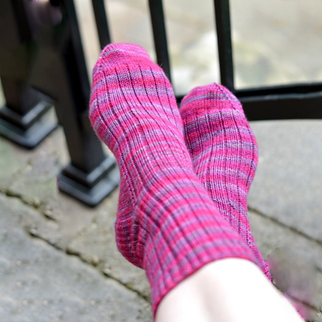 Feature Pattern of the Week - A Nice Ribbed Sock