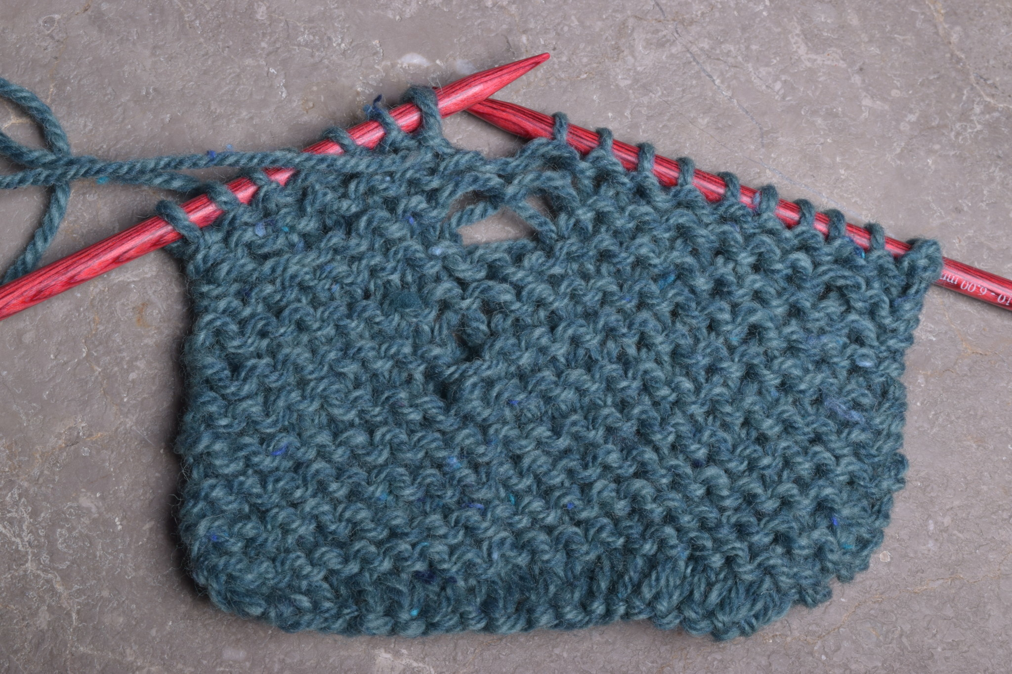 Fixing Knitting Mistakes; Tuesday, April 23;  12:00-2:00PM