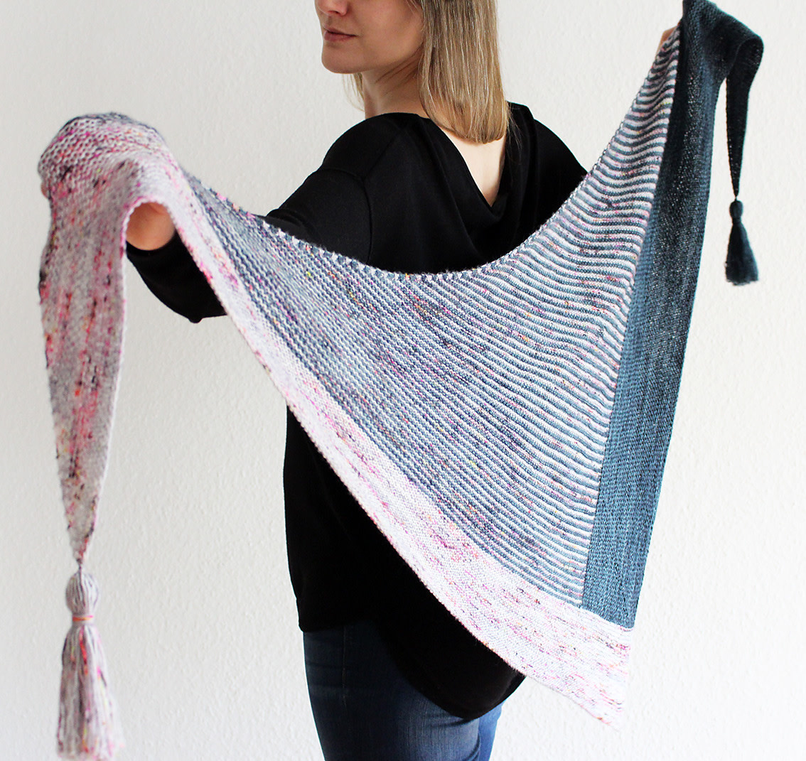 Image of Right Around the Corner Shawl; Monday, April 22, May 6, 20;  6:00-8:00PM