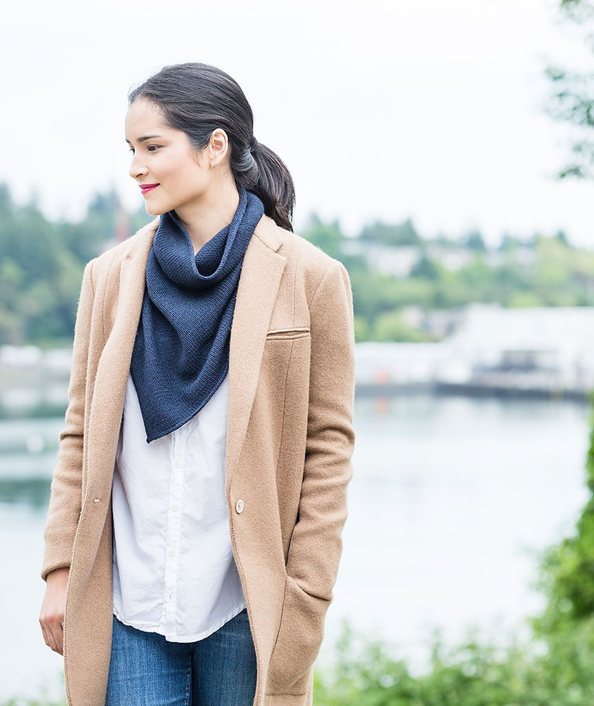 Two Point Cowl; Saturday, April 27, May 11, 18;  3:00-5:00PM