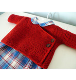 Image of Garter Stitch Baby Kimono; Thursday, May 9, 23, 30, June 6;  2:00-4:00PM