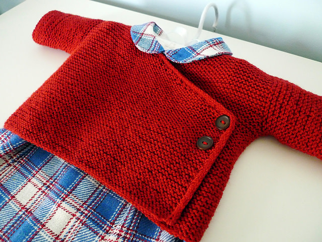 Garter Stitch Baby Kimono; Thursday, May 9, 23, 30, June 6;  2:00-4:00PM