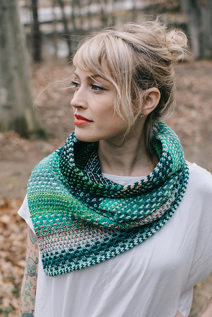 The Shift Cowl; Wednesday, May 22, June 5, 12;  6:00-8:0PM