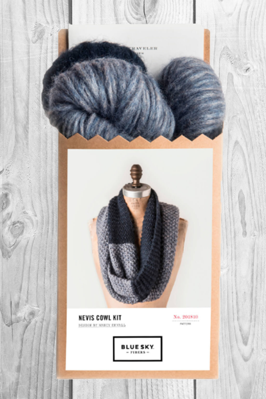 Image of Blue Sky Fibers Nevis Cowl Kit