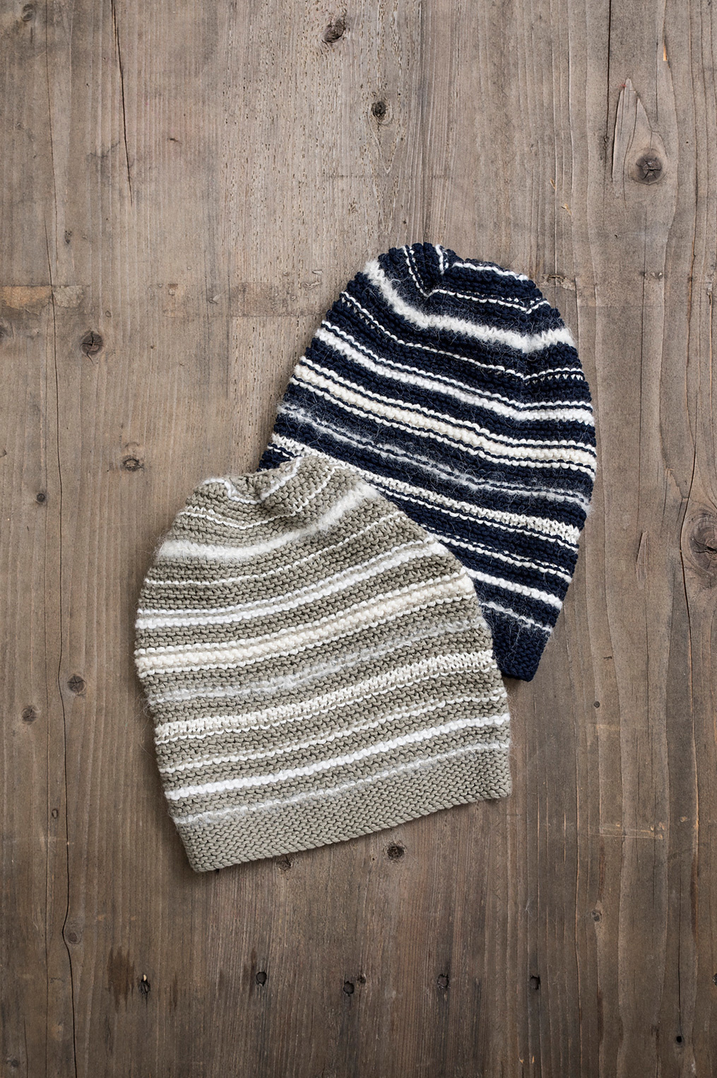 Image of Blue Sky Fibers Quintessential Slouch Hat Kit- Gravel (Discontinued)